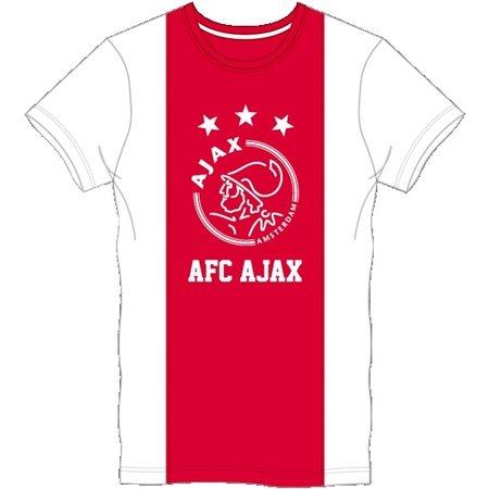 AJAX Amsterdam T-shirt ajax wit/rood/wit logo AFC maat 128