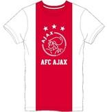 AJAX Amsterdam T-shirt ajax wit/rood/wit logo AFC maat S
