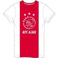 T-shirt ajax wit/rood/wit logo AFC