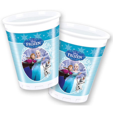 Frozen Bekertjes Frozen skating 200 ml: 8 stuks