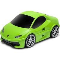 Koffer Ridaz Lamborghini Huracan groen: 49x27x22 cm