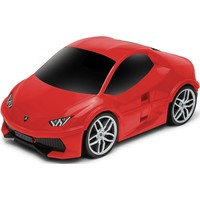Koffer Ridaz Lamborghini Huracan rood: 49x27x22 cm