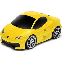 Koffer Ridaz Lamborghini Huracan geel: 49x27x22 cm