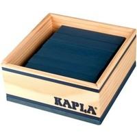 Kapla 40 stuks in kist donkerblauw