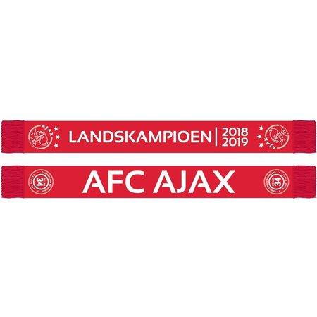 AJAX Amsterdam Sjaal ajax landskampioen 2018/2019