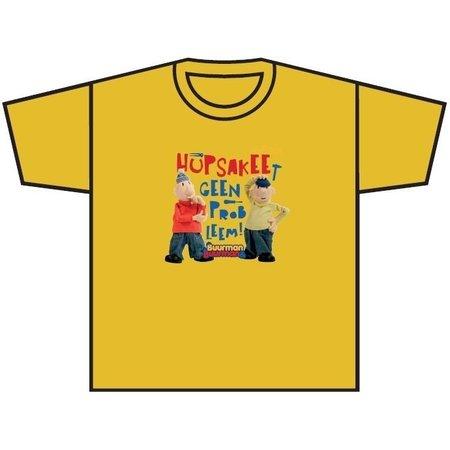 Buurman en Buurman T-shirt Buurman en Buurman geel