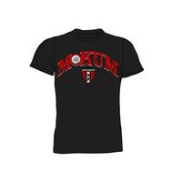 T-shirt ajax zwart mokum oude logo