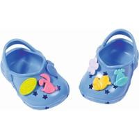 Schoenen met leuke pins Baby Born: blauw
