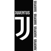 Badlaken Juventus zwart/wit: 70x140 cm