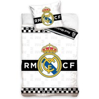Dekbed real madrid checkers