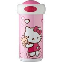 Schoolbeker Hello Kitty Mepal hartjes