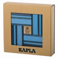 Kapla 40 stuks kleur met boekje blauw