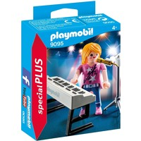Zangeres met keyboard Playmobil