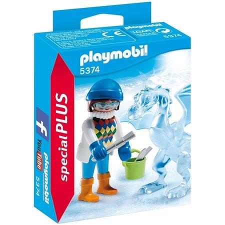 Playmobil Artieste met ijssculptuur Playmobil