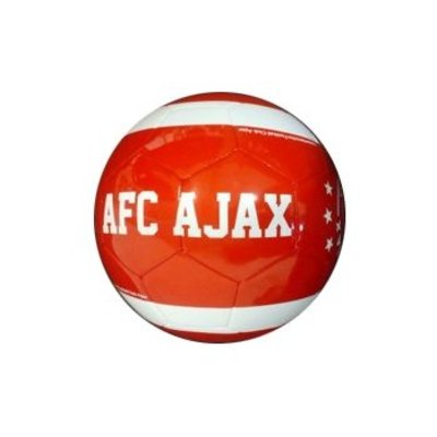 AJAX Amsterdam Bal ajax leer middel rood est 1900