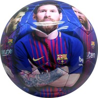 Barcelona voetbal leer groot shiny Messi