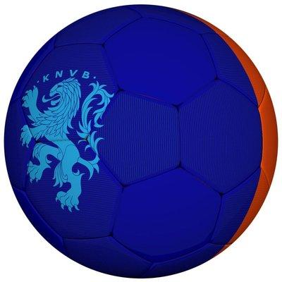 Holland Bal holland leer groot KNVB oranje/blauw 2016/2018