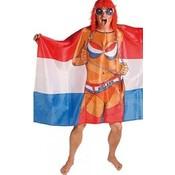 Vlag poncho holland maid in holland