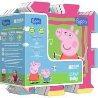 Puzzel Peppa Pig vloer foam: 8 stukjes