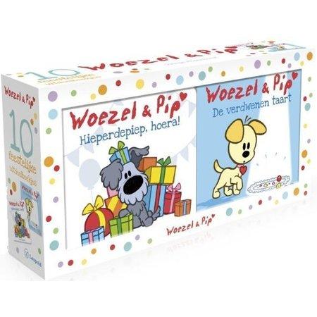Woezel en Pip Boek Woezel en Pip: 10 uitdeelboekjes