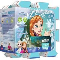 Puzzel Frozen vloer foam: 8 stukkjes