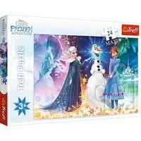 Puzzel Frozen: 24 stukjes