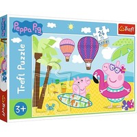 Puzzel Peppa Pig: 24 stukjes