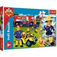 Puzzel Brandweerman Sam: 24 stukjes