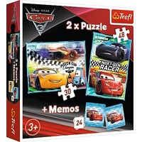 Puzzel Cars 2 in 1: 30 en 48 stukjes