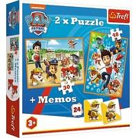 Puzzel Paw Patrol 2 in 1: 30 en 48 stukjes