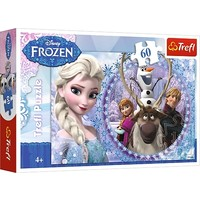 Puzzel Frozen: 60 stukjes
