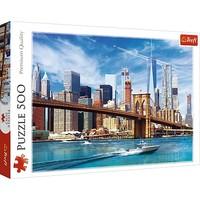 Puzzel Uitzicht over New York: 500 stukjes