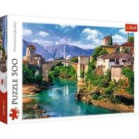 Puzzel Oude brug in Mostar: 500 stukjes