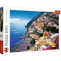 Puzzel Positano Italie: 500 stukjes