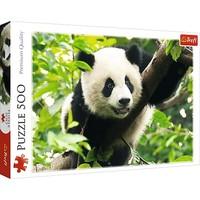 Puzzel Reuze Panda: 500 stukjes