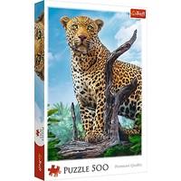 Puzzel Wild Luipaard: 500 stukjes