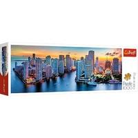Puzzel Panorama Miami Florida: 1000 stukjes