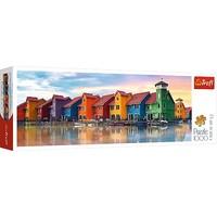 Puzzel Panorama Groningen Nederland: 1000 stukjes