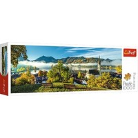 Puzzel Panorama Schliersee meer: 1000 stukjes