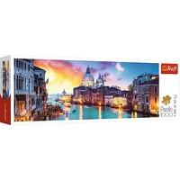 Puzzel Panorama Grande Canal Venetie: 1000 stukjes