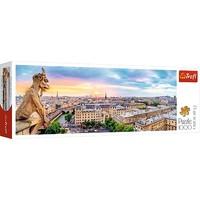 Puzzel Panorama Kathedraal Notre-Dame: 1000 stukjes