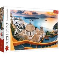 Puzzel Santorini: 1000 stukjes