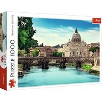 Puzzel Ponte Sant Angelo Rome: 1000 stukjes