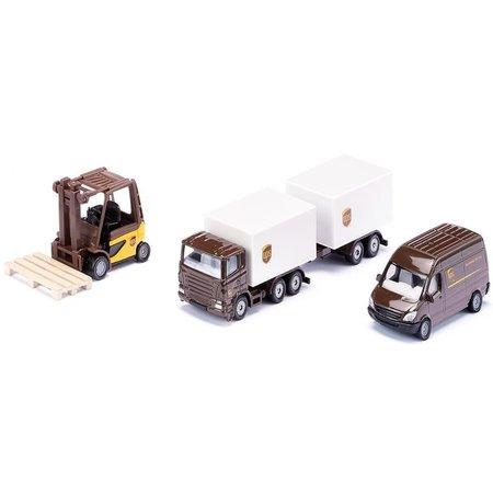 Siku Geschenkset UPS logistiek SIKU