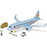 Verkeersvliegtuig met accessoires SIKU