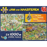 Puzzel JvH: Holiday Shopping 2x1000 stukjes