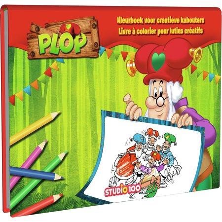 Kabouterplop Kleurboek Plop: Voor alle creatieve Kabouters