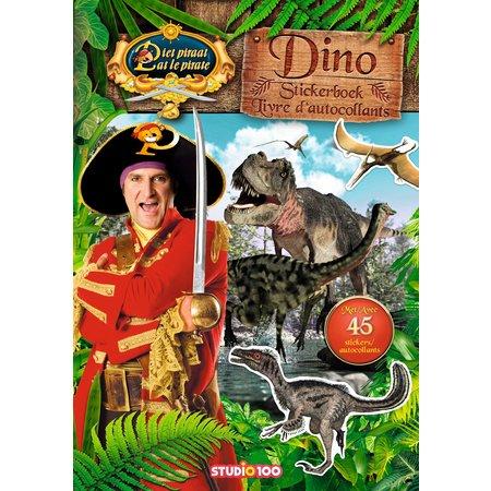 Pietpiraat Stickerboek Piet Piraat: Dino