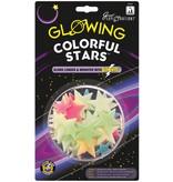 University Games Glow in the Dark sterren: Colorful Stars