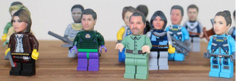 Gaaf! Zet je eigen hoofd op een LEGO-poppetje